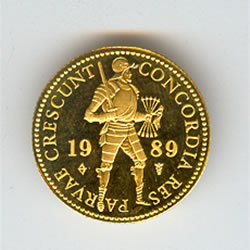 Netherlands 1 ducat gold 1975-date