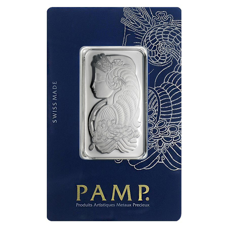 PAMP Suisse One Ounce Rhodium Bar