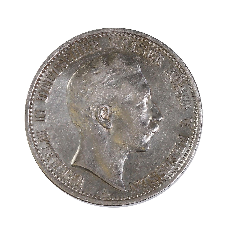 Prussia 2 mark 1891-1912 VF (KM522)