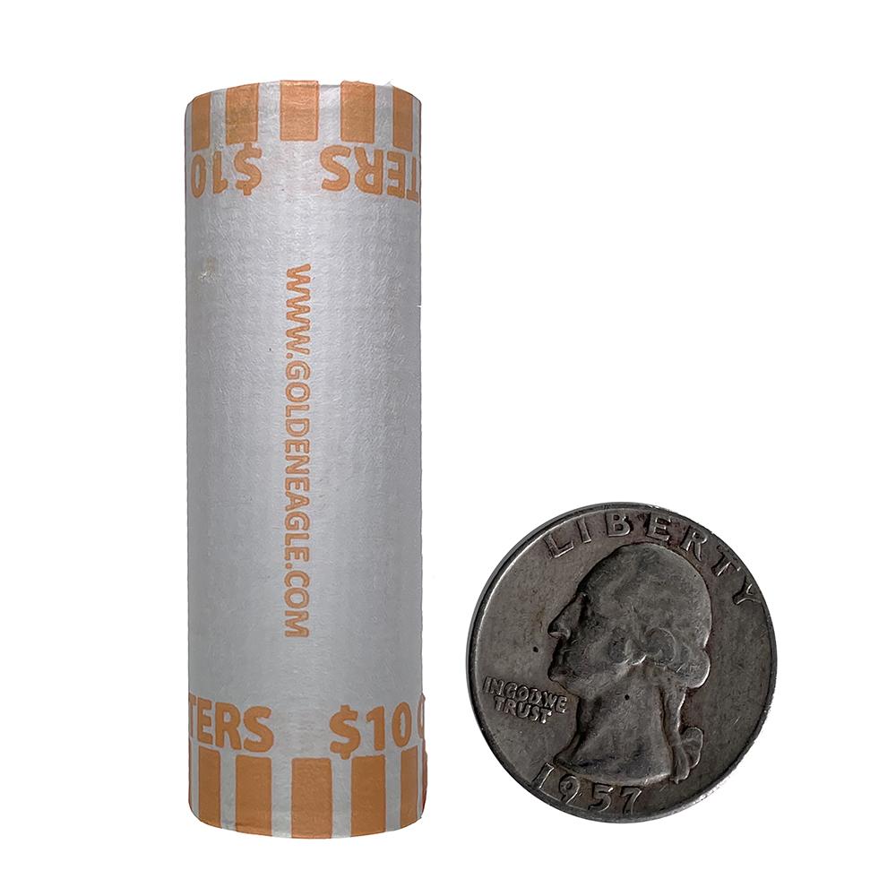 90% Silver Washington Quarters Roll (40 pcs.)