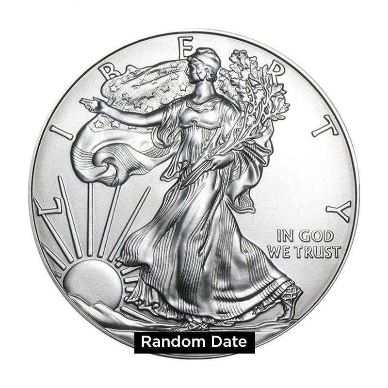 1 oz Silver American Eagle BU - Random Year