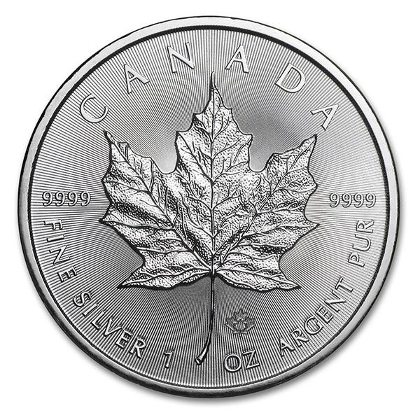 Silver Maple Leaf 1 oz Uncirculated - Random Year