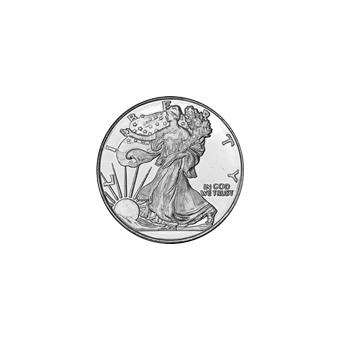 Silver Bullion 1/10 oz Round (Random Design) .999 Fine
