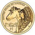 Sacagawea Dollar 2013-D BU
