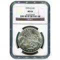 Certified Morgan Silver Dollar 1878-CC MS64 NGC