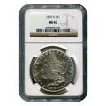 Certified Morgan Silver Dollar 1878-S MS63 NGC