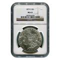 Certified Morgan Silver Dollar 1879-S MS63 NGC