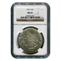 Certified Morgan Silver Dollar 1879 MS63 NGC