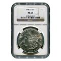 Certified Morgan Silver Dollar 1882-S MS63 NGC