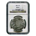 Certified Morgan Silver Dollar 1882 MS63 NGC