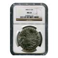 Certified Morgan Silver Dollar 1884-O MS63 NGC