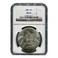 Certified Morgan Silver Dollar 1884 MS63 NGC