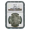 Certified Morgan Silver Dollar 1889 MS64 NGC