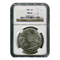 Certified Morgan Silver Dollar 1896 MS63 NGC