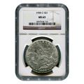 Certified Morgan Silver Dollar 1900-O MS63 NGC