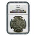 Certified Morgan Silver Dollar 1902 MS64 NGC