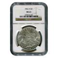 Certified Morgan Silver Dollar 1902-O MS63 NGC