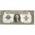 1923 $1 large size silver certificate F-VF