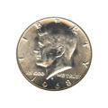 Kennedy Half Dollar 1968-D BU