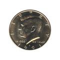 Kennedy Half Dollar 1991-D BU