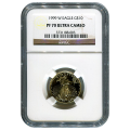 Certified Proof American Gold Eagle $10 1999-W PF70 NGC