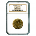 Certified American $25 Gold Eagle 2000 MS70 NGC