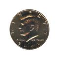 Kennedy Half Dollar 2001-D BU