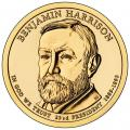 Presidential Dollars Benjamin Harrison 2012-P 25 pcs (Roll)