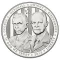 US Commemorative Dollar Proof 2013-P 5-Star Generals