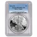 Certified Proof Silver Eagle 2014-W PR70DCAM PCGS