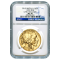Certified Uncirculated Gold Buffalo One Ounce 2015 MS70 NGC Early Release
