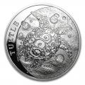Niue 1 oz Silver 2014 $2 Hawksbill Turtle