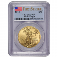 Certified American $50 Gold Eagle 2015 MS70 PCGS First Strike