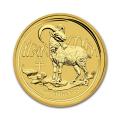 Australian Series II Lunar Gold Half Ounce 2015 Goat