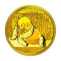 Chinese Gold Panda Half Ounce 2015