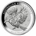 Australian Kookaburra 1 Oz. Silver 2018 Privy Mark F15