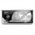 Silver 4 Ounce Bar - 2021 $100 Bill .999 Fine