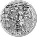2021 Germania 1 oz Silver BU 5 mark