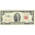 1953C $2 Legal Tender Note CU