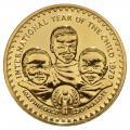 Lesotho 250 Maloti Gold 1979 Year of the Child BU