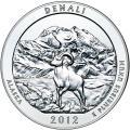 2012 Silver 5oz. Denali ATB